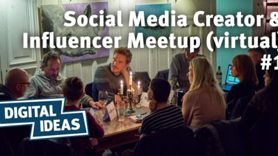 Social Media Creator & Influencer Meetup (virtual) #1